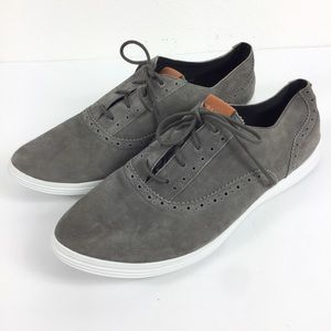 COLE HAAN Grand OS Leather Suede Lace Shoe 11